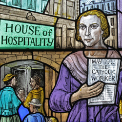 via zoom: Dorothy Day with Clare McArdle, Wednesday 6 October, 10.30am - 12 midday