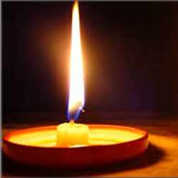 Meditation Candle 250x250
