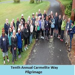 The Carmelite Way Pilgrimage 8-10 November 2019